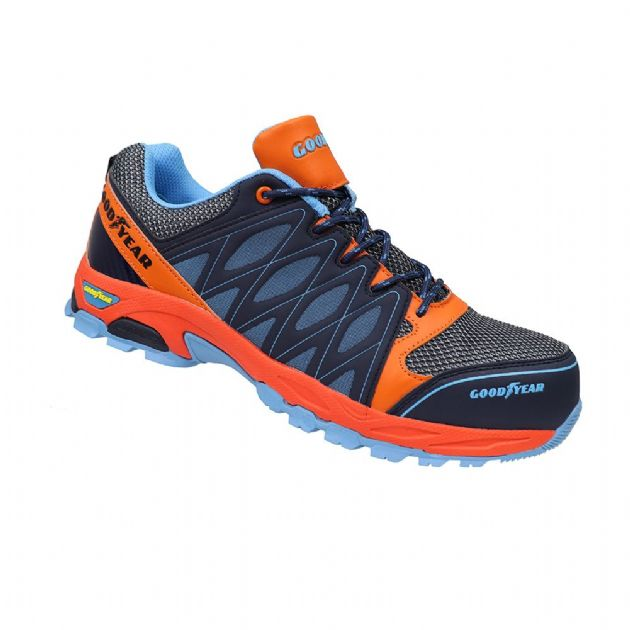 Goodyear GYSHU1583 Composite Toe Anti Static Safety Trainer Shoe S1P | TuffShop.co.uk